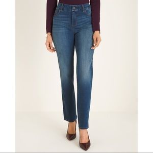 NWT CHICO'S So Slimming  GIRLFRIEND Jeans